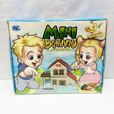 Детский домик из кирпичей - удивительный набор для творчества для юных
