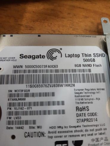 Жесткий диск на ноутбук 500гб состояние 100% в Бишкек