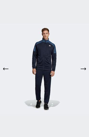 Спортивный костюм Adidas. Оригинал! 100% полиэстер. Размеры: L, XL