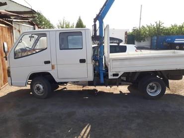 продаю портер в Кыргызстан: Продаю Портер (Цин-ци) грузовой (платформа) с краном