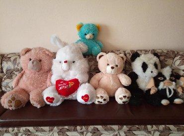 оюнчуктар в Кыргызстан: Продаются мягкие игрушки б.у и новые. Можно обмен на другие
