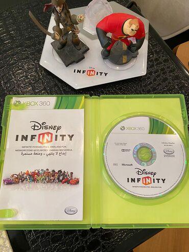 xbox 360 аккумулятор в Азербайджан: Disney Infinity for XBox 4 figurlarla (qahramanlar) birlikda va