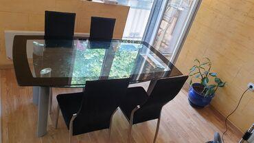 Kuća i bašta - Srbija: Setovi sto i stolice