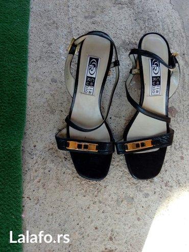 Crne sandale bez oštećenja br38 - Krusevac