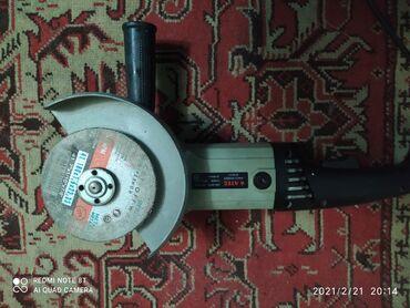 Инструменты - Кыргызстан: Болгарка ATEC 180 сломан фиксатор диска а так в идеальном состоянии по