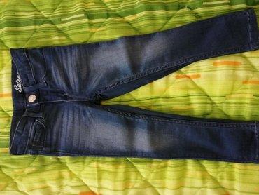 Dečije Farmerke i Pantalone | Crvenka: Nove H&M teksas pantalonice za devojčicu br 92, mekane, bez