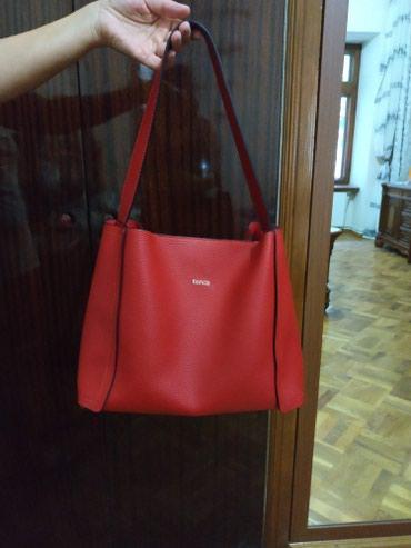 Bakı şəhərində Türk istehsalı olan çanta.