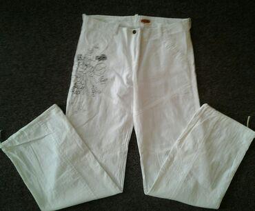 SNIŽENOOO! ! !  Prelepeee ITALY pantalone od mekog lana-pamuka za
