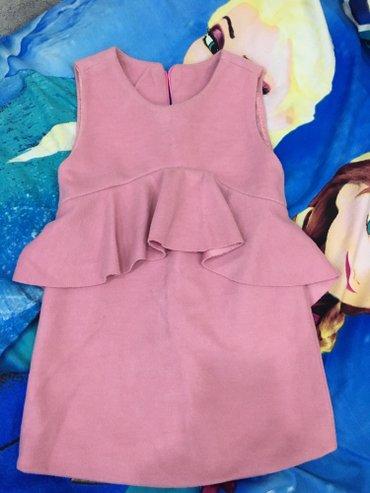 супер стильное платье в Кыргызстан: Платье на 3годакачество суперочень стильное и модное ткань тонкий