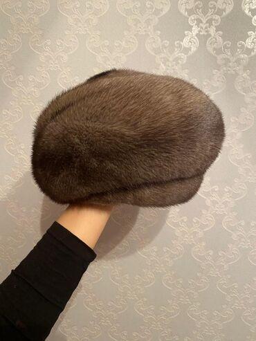 Норковая шапка, норка тумак Натуралка В хорошем состоянии