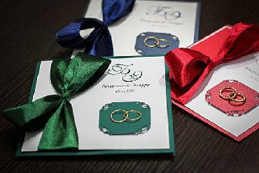 Искусство и коллекционирование - Бишкек: Свадебные пригласительные и открытки. Приглашения.Пригласительные на
