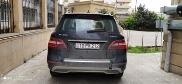 mersedes ml - Azərbaycan: Mercedes-Benz ML 350 3 l. 2013   96600 km