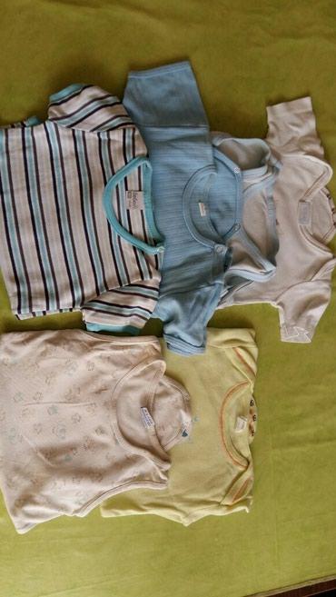 Bodici za bebe vel.80 i od 12-18 meseci,6kom,2 su na bratele,3 na - Petrovac na Mlavi