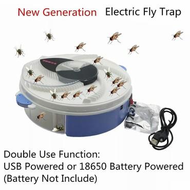 Другая бытовая техника в Кыргызстан: Супер, Электрическая ловушка для мух и комаров+бесплатная доставка по