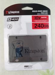 Ssd kingston 60gb ssdnow v300 - Кыргызстан: SSD 240GB KINGSTON A400. Новый. Все товары смотрите в профиле