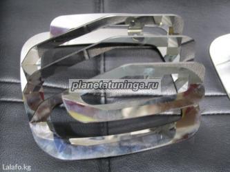 Защита хром металл верхних поворотных ламп на mersedes g500 g63 в Лебединовка