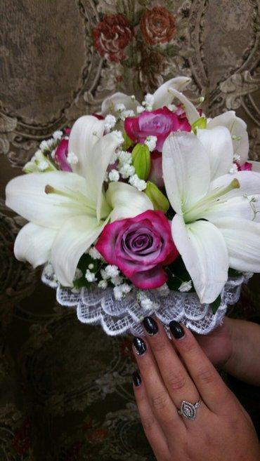 Свадебные  цветы.Букеты любой сложности.Ватсап   в Бишкек