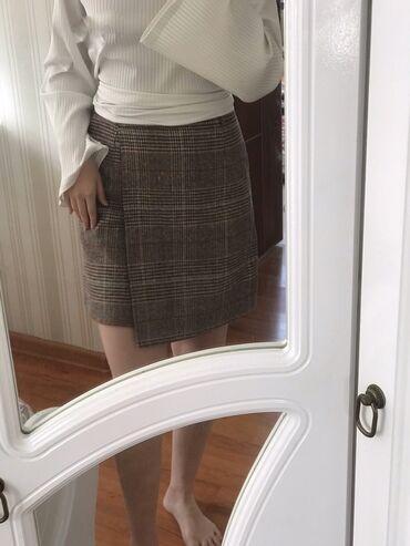 Тёплая юбка с подкладом, на осень и зиму. Цена окончательная!