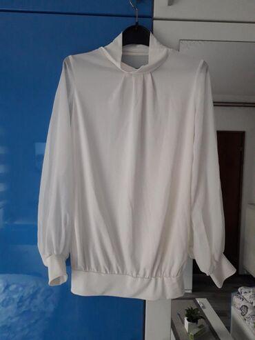 Ženska odeća   Kladovo: Majica sa providnim rukavima, S