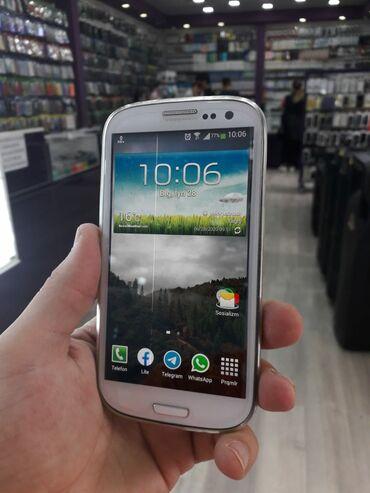 Samsung-s3-i9300 - Азербайджан: Samsung Galaxy S3(16gb)Əla vəziyyətdədi.Tək problemi ekranda nazik