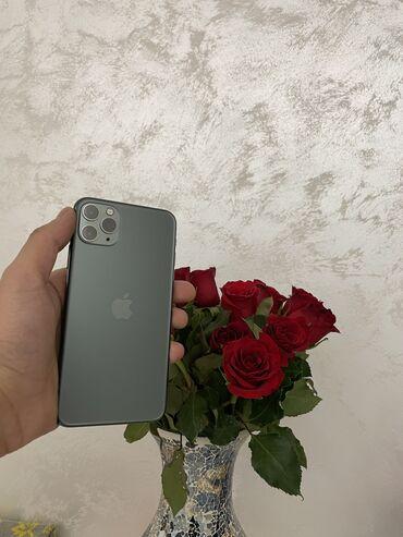 наушники jvc в Кыргызстан: Б/У IPhone 11 Pro Max 256 ГБ Зеленый