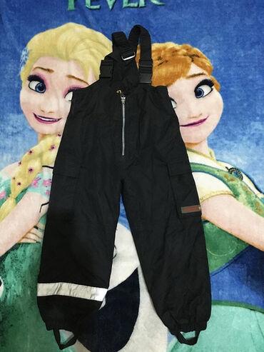Ski pantalone,vel.oko za oko 5-6 god.Crno,jedva bledja i očešana