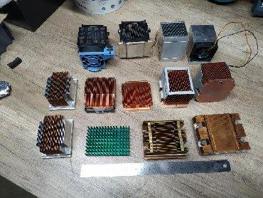 Радиаторы охлаждения разные б/у. Имеются серверные радиаторы чисто