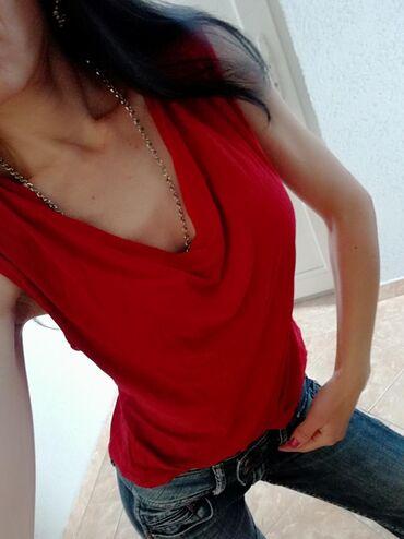 Elegantna bluza, Italija, crvena, novaVel s. Saljem post expresom