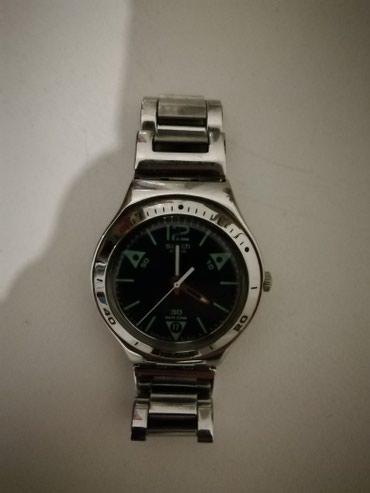 Domažlice şəhərində Kişi Gümüşü Qol saatı Swatch