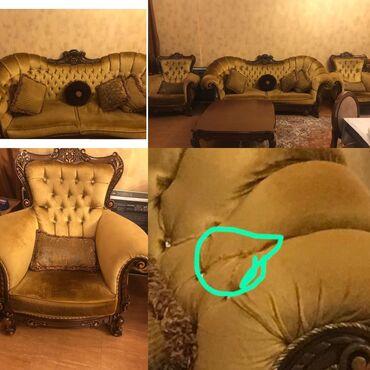 sism divan - Azərbaycan: Tecili koc sebebile satilir. 8 ayin divan kreslosudur 3800 azne