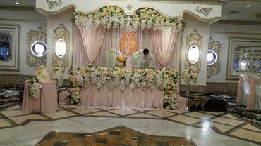 Свадебная флористика  в Бишкек