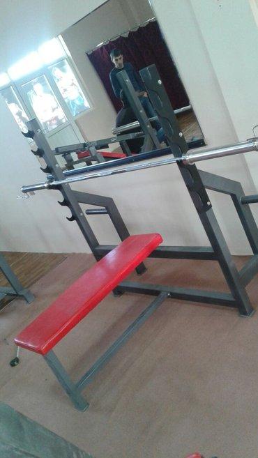 Bakı şəhərində Butun nov trenajor aletlerinin satiwi...