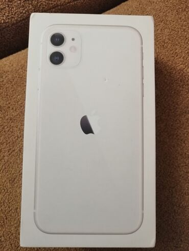 Iphone 11 orginal kutusu nauşnik yoxdu adaptor başlığı içindədi
