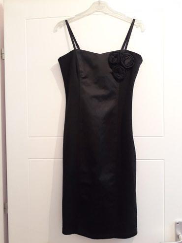 Haljina uz telo - Srbija: Svecana crna haljina vel.s, uz telo, rastegljiva