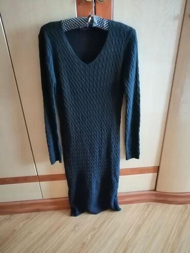 Новое платье, тонкий трикотаж, по фигуре, размер S, M