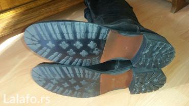 Ženska obuća   Sabac: Nove Italijanske kozne cizme br.38