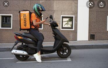 Практика вождения на механике - Кыргызстан: Требуется курьер с личным Мопедом. Оклад 35 000сом и выше) в
