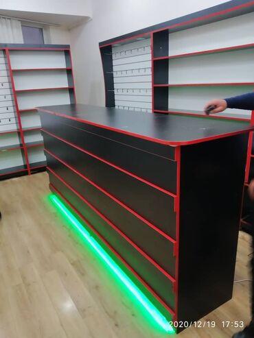 стойка ресепшн в Кыргызстан: Торговые стеллажи витрины полки ресепшн кассовый стол на заказ