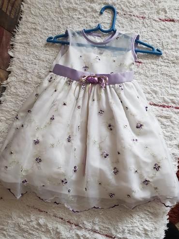 Svecana haljina za devojcice, odgovara za usrast 2-3god. placena je - Kraljevo