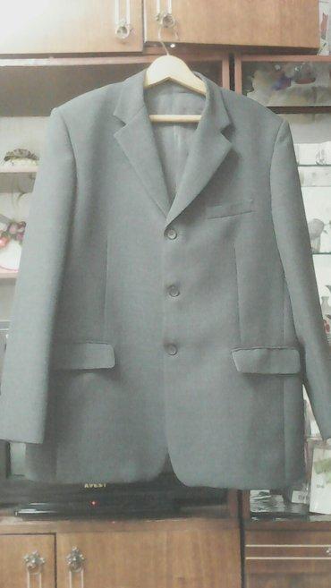Мужской пиджак. Цвет тёмно серый. Размер 62-64. В хорошем состоянии. в Бишкек