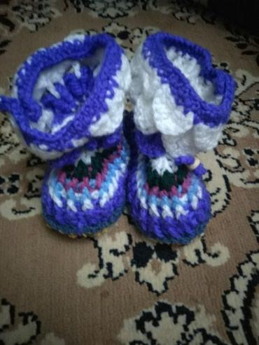 балетки войлочные в Кыргызстан: Пинетки с подошвой войлочной.от2до3лет