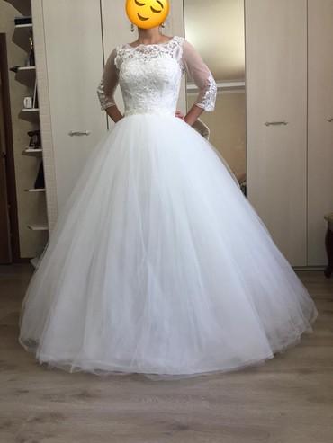 Срочно продаю Свадебное платье или на прокат, с кольцами, размер