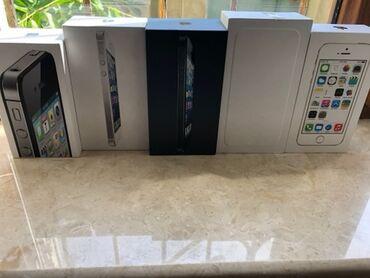 зарядка iphone 4s в Азербайджан: Iphone qutulari.4S,5S,6 .Icinde her birseyi var.Originaldir.1 ededi 5