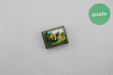 Дом и сад - Украина: Шкатулка для прикрас з малюнком   Довжина: 8 см Ширина: 10 см  Стан га