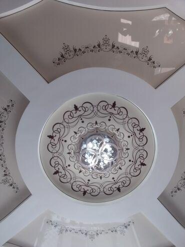 цена-пескоблока-бишкек в Кыргызстан: Натяжные потолки в Бишкеке. ▪︎любая сложность и арт-печать. ▪︎огромный