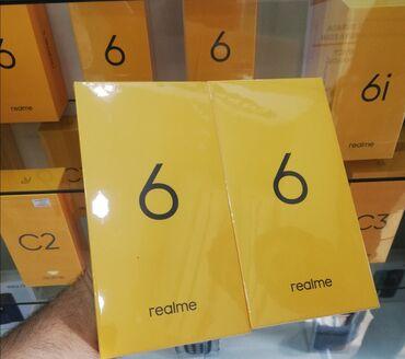 REALME 6. YADDAS 128 GB.Bagli Qutuda.Qeydiyatli Bir il FİRMA