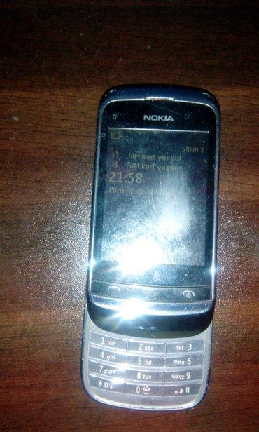 Bakı şəhərində Nokia  iki kartli ela zaryadka saxliyir  hec  bir problemi yoxdu