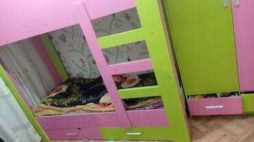 квартира керек кара балта in Кыргызстан | БАТИРДИ ИЖАРАГА АЛАМ: Продаю двух ярусную кровать или меняю на два полуторку кровати обр
