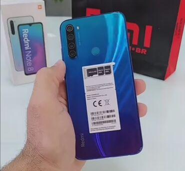 Yeni Xiaomi Redmi Note 8 64 GB qara
