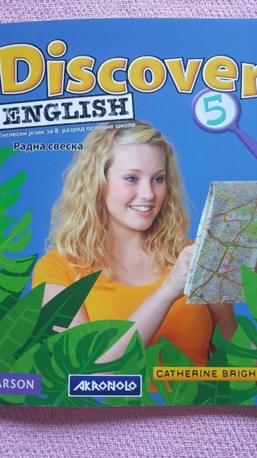Knjige, časopisi, CD i DVD | Sremska Mitrovica: 8 r engleski radna sveska +cd akronolo novo